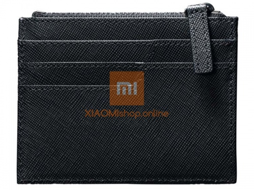Кошелек Xiaomi 90 Points Card Holder with Coin Pouch (RMST05QB) черный