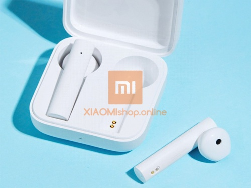 Наушники беспроводные Xiaomi Mi True Wireless Earphones 2 Basic  (TWSEJ08WM) фото 3