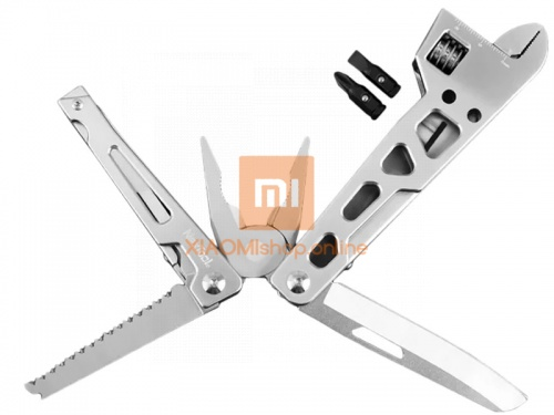 Мультитул Xiaomi Nextool Multifunction Wrench Knife (KT5023) серебро фото 3